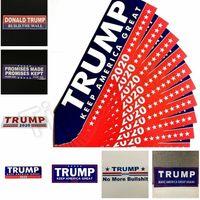 araç etiketleri çıkartmalar toptan satış-Donald Trump 2020 Araba Çıkartmaları Tampon Sticker Amerika Büyük Yapmak Tutmak için Araba Styling Araç Paster Yenilik Öğeleri için çıkartma Çıkartmalar 4728