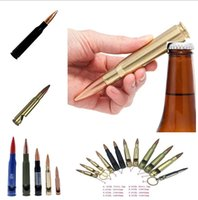 More size creative bullet opener Shell case shaped bottle opener Great party business gift Can laser customize