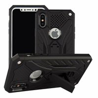 Wholesale Armor hybrid phone case for iPhone X XR XS Max TPU PC case for samsung Note9 S8 S9 S10 Lite plus