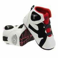 bebekler için çizmeler toptan satış-Bebek deri beşik ayakkabı Bebek ilk yürüyüşe çizmeler Toddlers yumuşak taban kış sıcak sneakers