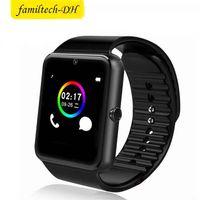 en iyi mesajlar toptan satış-En Çok Satan Akıllı İzle GT08 Saat Sim Kart Yuvası Ile Itin Mesaj Bluetooth Bağlantısı Android Telefon Smartwatch GT08 20 adet / grup