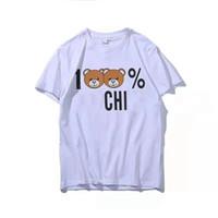 Wholesale womens leisure shorts for sale - Group buy 19SS Street Women s T Shirt Monogram Printing Fashion Womens Designer T Shirts Lady Leisure Pure Cotton Beart Shirt