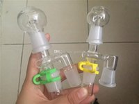 Wholesale 18 14 mm adapter resale online - FEMALE RECLAIM CATCHER Manufacturer and mm degrees male Adapter Complete re Set for oil three parts for this set