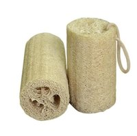 Wholesale Natural Loofah Luffa Sponge with Loofah For Body Remove The Dead Skin And Kitchen Tool EEA1342