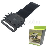 Wholesale fitness gears for sale – custom Wrist swivel phone holder sports gear wrist bag Creative outdoor running fitness mobile phone holder with retail packing
