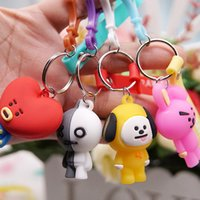 Wholesale female toy for sale - Group buy Cartoon Rubber Stereoscopic Key Buckle Male And Female Fashion Cute Anti Wear Keyring Portable Small Exquisite Keys Chain Simple sm I1