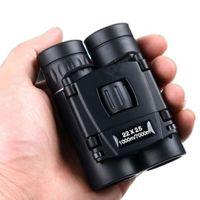 Wholesale mini night binoculars resale online - Telescope High Powerful x25 Binoculars Mini Professional Binocular Eyepiece Zoom Night Vision Lightweight Compact Black