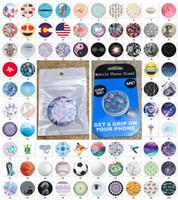 держатели ячеек оптовых-Высококачественный универсальный держатель подушки безопасности для мобильного телефона Стенд Кронштейн с синим пакетом 4000 шаблонов Расширяемый держатель телефона