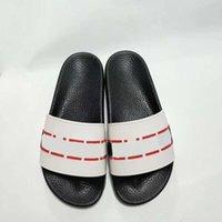 sandálias de praia unisex venda por atacado-Brandguc branco preto moda causal chinelos meninos meninas tian / blooms início impressão sandálias de slides unisex praia ao ar livre chinelos