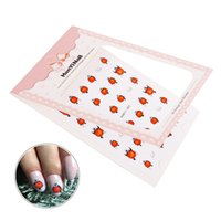 Wholesale cartoon nail art sticker for sale - Group buy 3D Cartoon Bird Water Transfer Nail Sticker Decoration Pattern Nail Art Stickers for Nails Adhesive DIY Manicure Tips Sheet