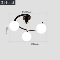 lâmpadas de vidro fosco venda por atacado-Vidro branco fosco Led luz lustres lustre espiral slide lustre quarto kid room círculo decoracion lâmpada