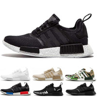 Wholesale outdoor army shoes resale online - Cheaps NMD R1 Oreo Runner Japan Nbhd Primeknit OG Triple Black White Camo Running Shoes Men Women Nmds Runners Xr1 Sports Trainers