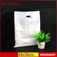 sacolas plásticas para cama venda por atacado-Sacos de roupas de plástico 100x custom made saco extra grande para o fundamento da embalagem do produto 55 * 45 sacos de plástico branco
