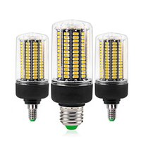 Wholesale industrial outdoor lighting for sale - Group buy E27 E14 SMD5736 LED Bulb lamps AC V V LED Corn Light W W W W W No Flicker for Living Room Ampoule