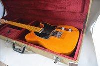 ventas directas de guitarra de fábrica al por mayor-Ventas directas de fábrica de la nueva funda de cuero estándar de guitarra clásica funda de guitarra carga amarilla gratis