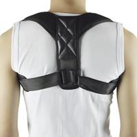 Oberen Zurück Zurück Körperhaltung Korrektor Verstellbare Rücken Schulterstütze Gürtel Rücken Schulter Lenden Schulterhaltungskorrektur Brace Pflege Schönheit & Gesundheit