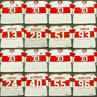 Wholesale kronwall jersey for sale - Group buy Detroit Red Wings PAVEL DATSYUK CHRIS CHELIOS BRIAN RAFALSKI HENRIK ZETTERBERG VALTTERI FILPPULA NIKLAS KRONWALL jersey