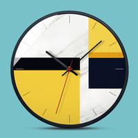 ingrosso orologi in metallo-3 modelli 12 pollici orologio da parete design moderno struttura in metallo soggiorno decorazione regalo di inaugurazione della casa orologi da parete decorazioni per la casa