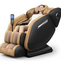 elektrische lautsprecher großhandel-New 8D Ganzkörper-Zero Gravity automatische elektrische Massage-Stuhl Knet-Kapsel Multifunktionale Shiatsu Massage mit Lautsprecher