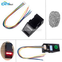 sensor vermelho infravermelho venda por atacado-DIYamll Red Light DC 3.8-7V Optical Fingerprint Reader Módulo Sensor de Arduino Mega2560 UNO R3 51 AVR STM32