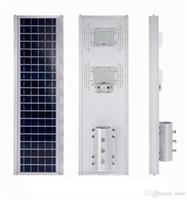 Wholesale industrial design for sale - Group buy 50W W W LED solar street light Outdoor Waterproof IP66 Integrated design Working Modes PIR sensor Smart light