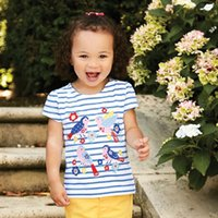 Wholesale shirts for girls new style for sale - Group buy Kidsalon Girls Summer Tops Kids Tee Shirt Fille Brand New Children T shirts for Girls Clothes Cotton Baby Girl T shirt Y