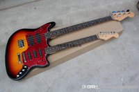 Wholesale double necks guitars for sale - Group buy New Style Double neck guitar strings bass strings st electric guitar