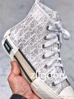 hombres hermosos al por mayor-2019 DIOR x Kaws De diez estilos de calidad superior de B23 Zapatillas de deporte hermosas para hombres y mujeres, zapatillas de moda de alta gama