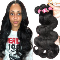 Wholesale tangle free hair weave resale online - Brazilian Body Wave Wet And Wavy Virgin Brazilian Hair Bundles Brazilian Human Hair Weave No Shedding and Tangle Free