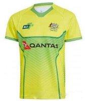 Wholesale australian shirt for sale - 2019 AUSTRALIA WALLABIES JERSEY Seven man rugby Jerseys Rugby League shirt Australian wallabies