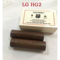 kutu mods elektronik sigara toptan satış-100% Yüksek Kalite 3000 mah 30a Elektronik Sigara Kutusu Vape Mods Şarj Edilebilir Lityum Piller HG2 18650 Pil