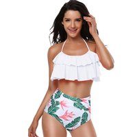 boho bikinis al por mayor-8 colores crochet bikini dividido con forro de piña sexy patrón de ganchillo Boho bkini fiesta nupcial boda luna de miel Ropa interior nupcial