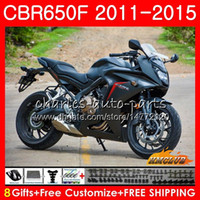 Wholesale matte black fairings for sale - Group buy Body For HONDA CBR F CBR F CBR650F HC CBR650 F CBR CBR F matte black Fairing