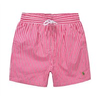 Wholesale men polo wears for sale - Group buy 2019 New listing fashion Men s Little horse Beach pants stripe Design Summer POLO Shorts For man Swim Wear Board Quick drying Shorts