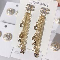 ingrosso orecchini per le tendenze delle donne-Grandi orecchini vintage per donne Orecchini pendenti geometrici dorati di colore Orecchini pendenti in metallo con tendenza pendenti