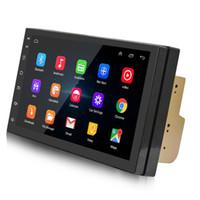 navigator android großhandel-Androider 7 Zoll-Auto-Spieler Bluetooth 4.0 Stereoradioauto GPS Navigator eine Maschine 1018