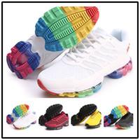 relógios de moda de plástico venda por atacado-[Com esporte assistir]Designer shoes men women Nike AIR MAX  TN2 gota de plástico nano homens e mulheres tênis de corrida calçados esportivos kpu moda grade tênis invicto plus