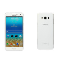 dhl 2gb koç toptan satış-Yenilenmiş Orijinal Samsung Galaxy A7 A7000 Çift SIM 5.5 inç Sekiz Çekirdekli Çekirdek 2 GB RAM 16 GB ROM 13MP Kamera 4G LTE Cep Cep Telefonu Ücretsiz DHL 1 adet