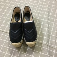 ingrosso le scarpe comode delle signore-4 colori Fashion Designer Scarpe da donna Ladies Comode scarpe con plateau Espadrillas Designer Espadrilla Heel Altezza 5.5 Cm Taglia 35-40