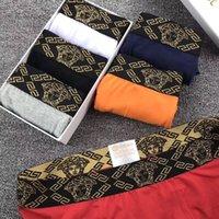 xxl sexy 15 großhandel-brand new designer underwear herren luxus unterhose aus fester baumwolle unterhose atmungsaktiv boxershorts männer höschen sexy männliche unterwäsche 15