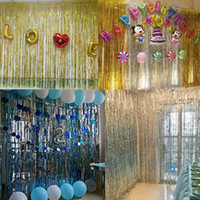 Wholesale blue gold decorations for party for sale - Curtain colorful door curtain Party Supplies Foil Kids Cartoon Animal Horse Float for Balloons Birthday Party Decoration
