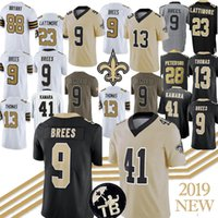 ingrosso adrian peterson-9 Drew Brees 41 Alvin Kamara 7 Taysom Hill New Orleans Jersey Saints 13 Michael Thomas Maglie 28 Adrian Peterson 2019 nuovo