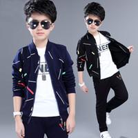 3-piece Set Kids Clothing Children's Wear Jacket Autumn New Suit Boy Spring Boys and Children Sports Clothes Trend Outwear