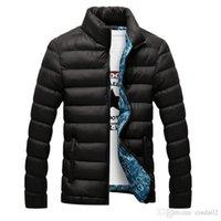 homens casacos casacos venda venda por atacado-Novas Jaquetas Parka Homens Venda Quente Qualidade Outono Inverno Quente Outwear Marca Fino Mens Casacos Casacos Casuais Quebra-vento Homens