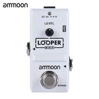 Wholesale effect pedal looper resale online - ammoon AP Nano Series Loop Electric Guitar Effect Pedal Looper True Bypass Unlimited Overdubs Minutes Recording