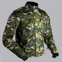 chaqueta de aire de motocicleta al por mayor-Nuevo diseño de motocicleta de verano de flujo de aire de malla chaqueta militar del ejército camo