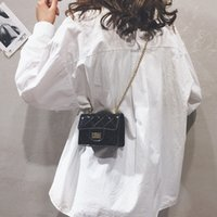Wholesale mini prisms for sale - Group buy Belle2019 Rui Man Bag Woman Tidal Prism Chain Small Square Package Joker Mini Single Shoulder