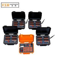 controles remotos de fuego fuegos artificiales al por mayor-El CE aprobó + envío gratuito de DHL / FedEx +96 señales recargable de los fuegos artificiales remotos de los 300M ~ 500M, DBR02-X24-96