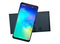 mobil tv şovları toptan satış-Goophone yeni s10 artı 6.3 inç MTK6580 dört çekirdekli 1 GB RAM 4 GB ROM Tam Ekran Cep Telefonu Gösterisi 4G LTE Android Unlocked cep telefonu DHL 5 adet