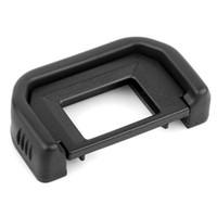 dslr fotga toptan satış-EF Siyah Vizör EF 1100D 650D 550D 500D 450D için Göz Farı Eyecup